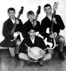 Dan's first band, the Squires